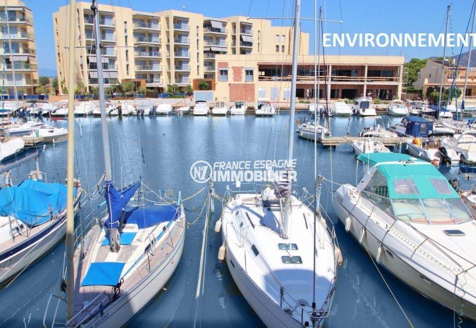 agence immobiliere costa brava: appartement ref.3606, aperçu de la marina aux alentours