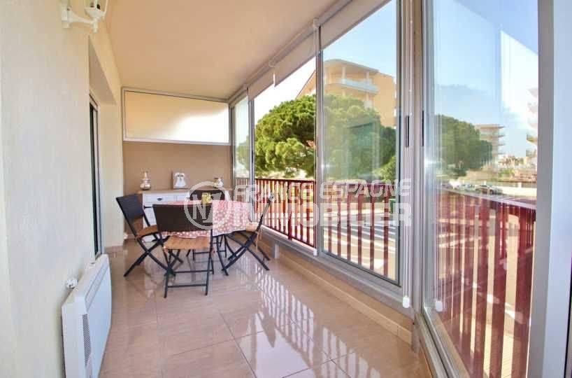 santa margarita, ref.3644, studio 36 m² avec grande véranda, parking privé