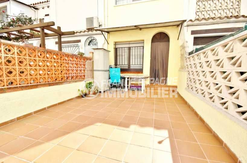 vente maison empuriabrava, grande terrasse, proche plage & commerces