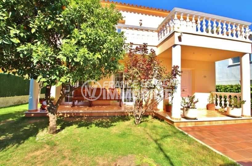 Villa independante Roses els grecs terrain arbore