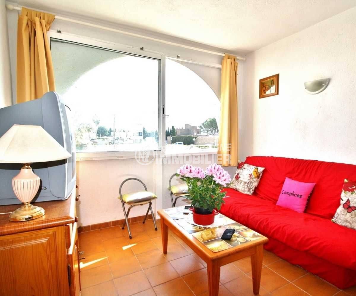 agence immobiliere rosas santa margarita vend appartement avec terrasse vue canal