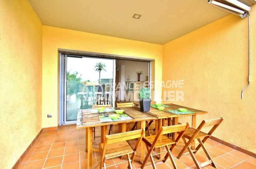 vente appartement santa margarita: 69 m² avec terrasse vue canal & piscine
