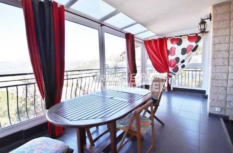 Apartement Roses Puig Rom vue panoramique sur mer