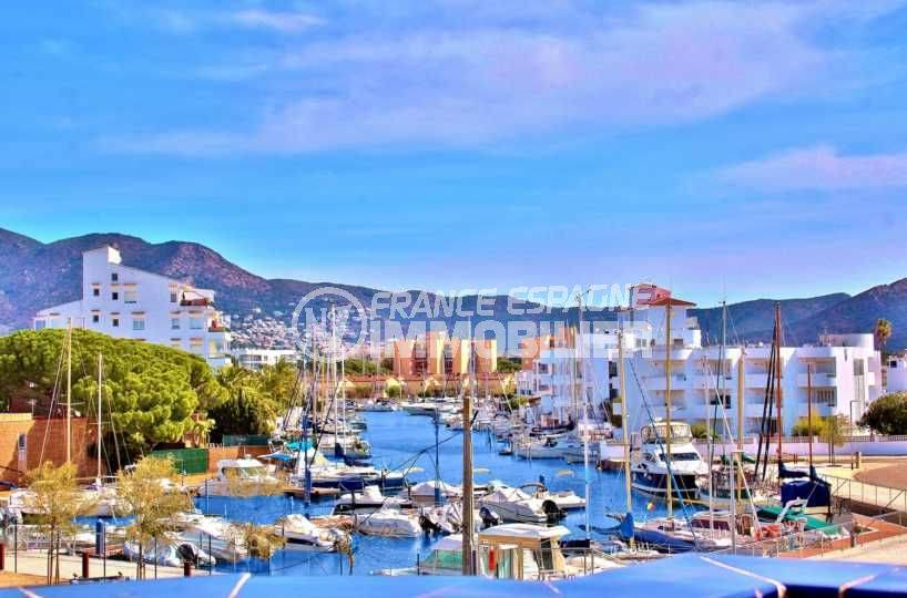 agence immobiliere rosas santa margarita, appartement vue dégagée sur canal