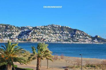 agence immobilière rosas: vente appartement en centre ville proche plage, terrasse