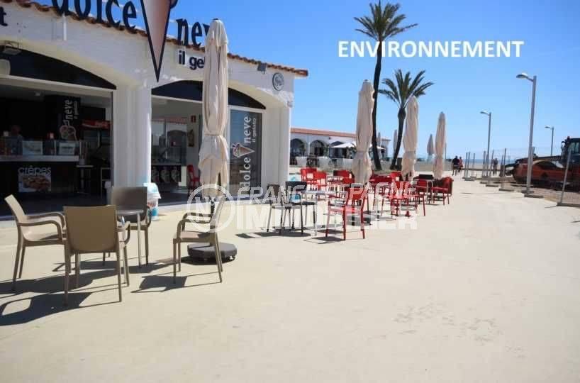 immobilier espagne pas cher: studio ref.3639, commerces proche de la plage