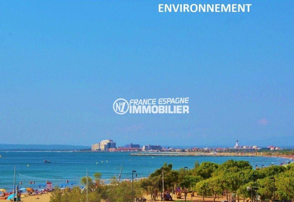 la costa brava: appartement ref.3637, aperçu de la plage et de la côte aux environs
