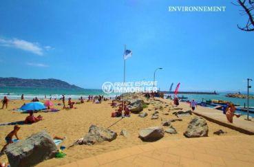acheter appartement rosas, ref.3637, vue sur la plage et le puig rom à proximité