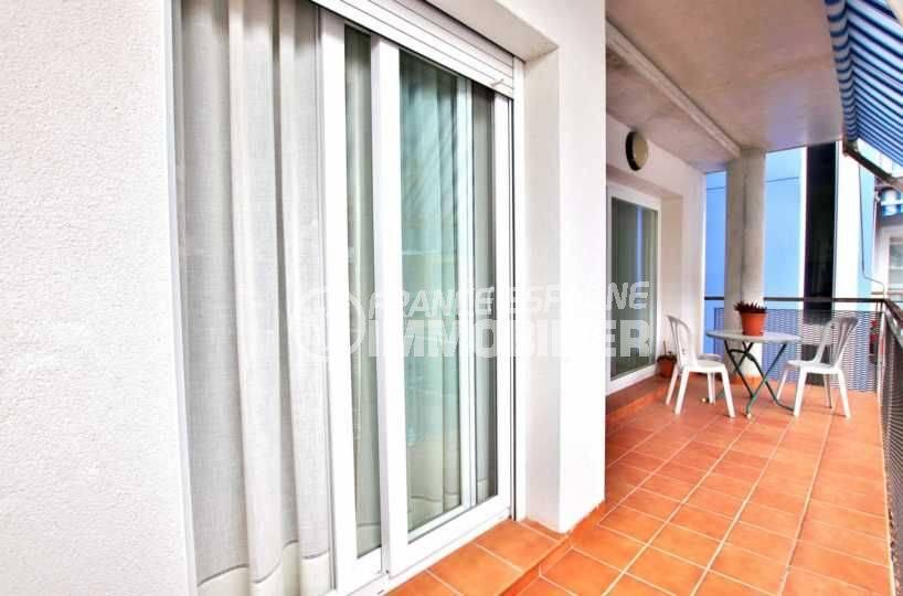 Appartement Santa Margarita, Roses, grande terrasse
