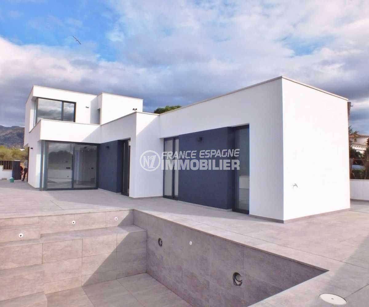Villa Roses, nouvelle construction contemporaine