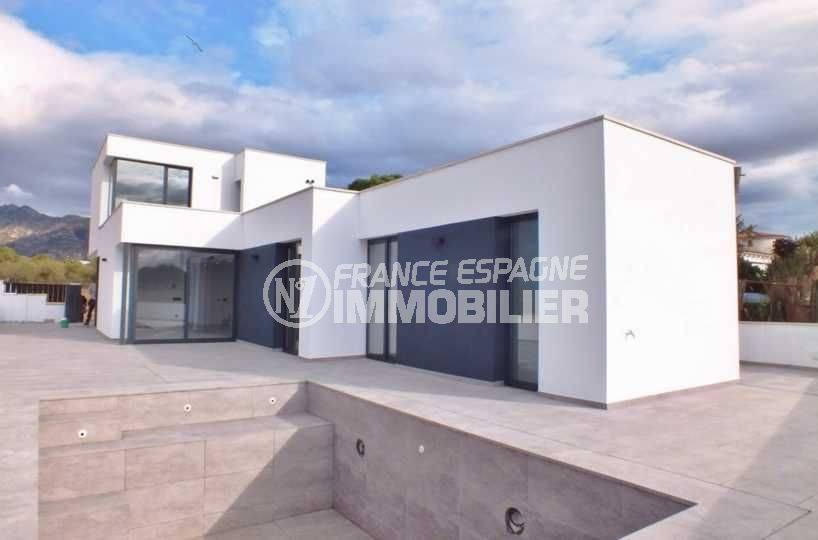 Villa Roses, nouvelle construction contemporaine