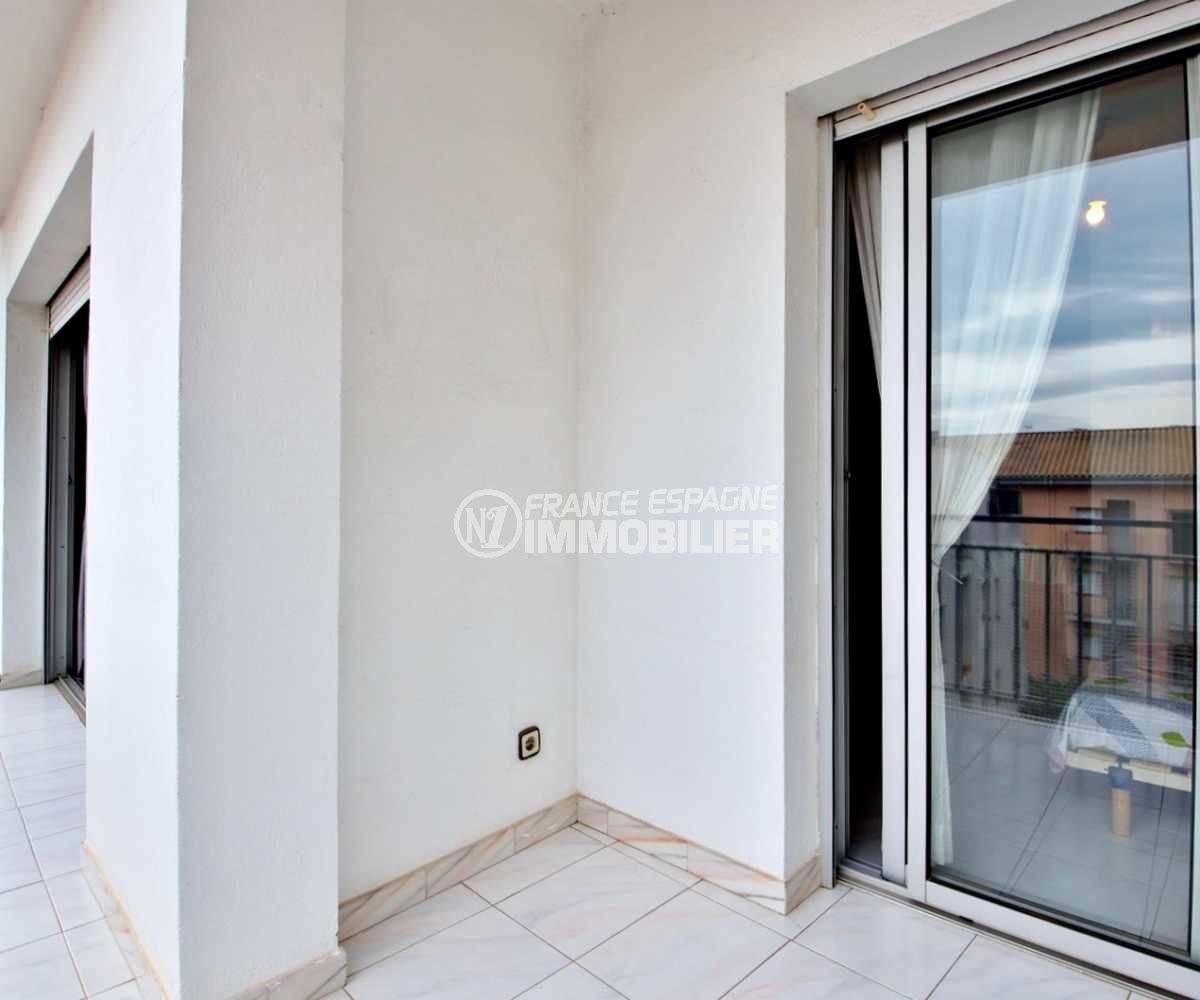 appartements a vendre a rosas, ref.3664, terrasse solarium avec accès salon