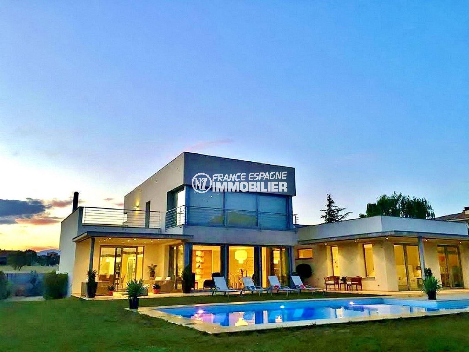 maison a vendre espagne costa - Villa golf perelada luxe moderne 3682