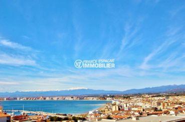 appartement a vendre rosas, ref.3654, vue mer, parking, plage et commerces à 500 m