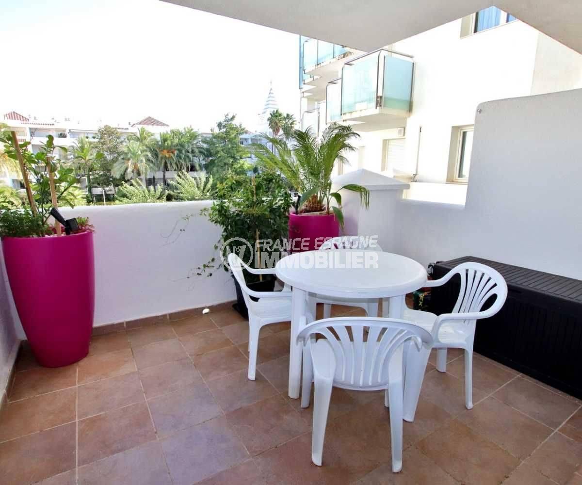 vente immobiliere espagne : appartement 60 m² Santa Margarita avec piscine