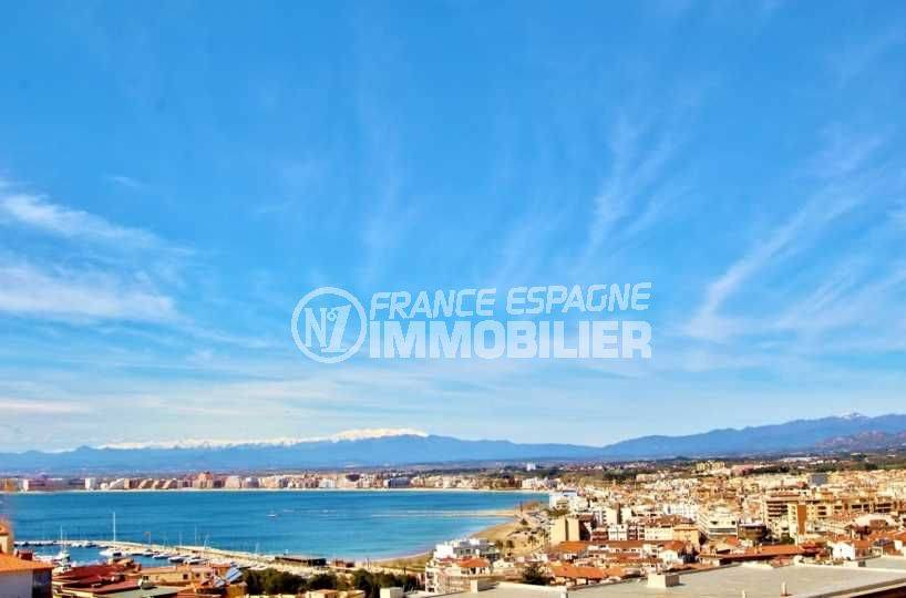 Appartement Puig Rom, Roses, vue mer