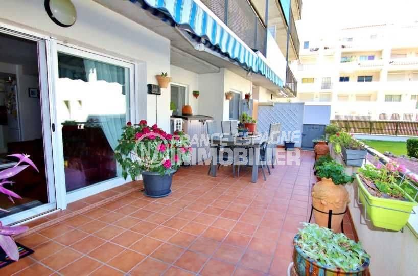 vente immobiliere espagne, appartement 99 m² grande terrasse