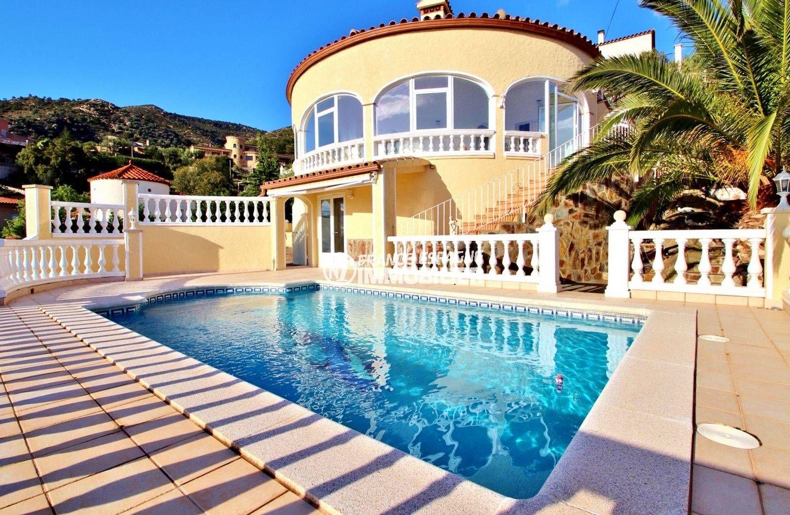 palau saverdera, belle villa avec piscine