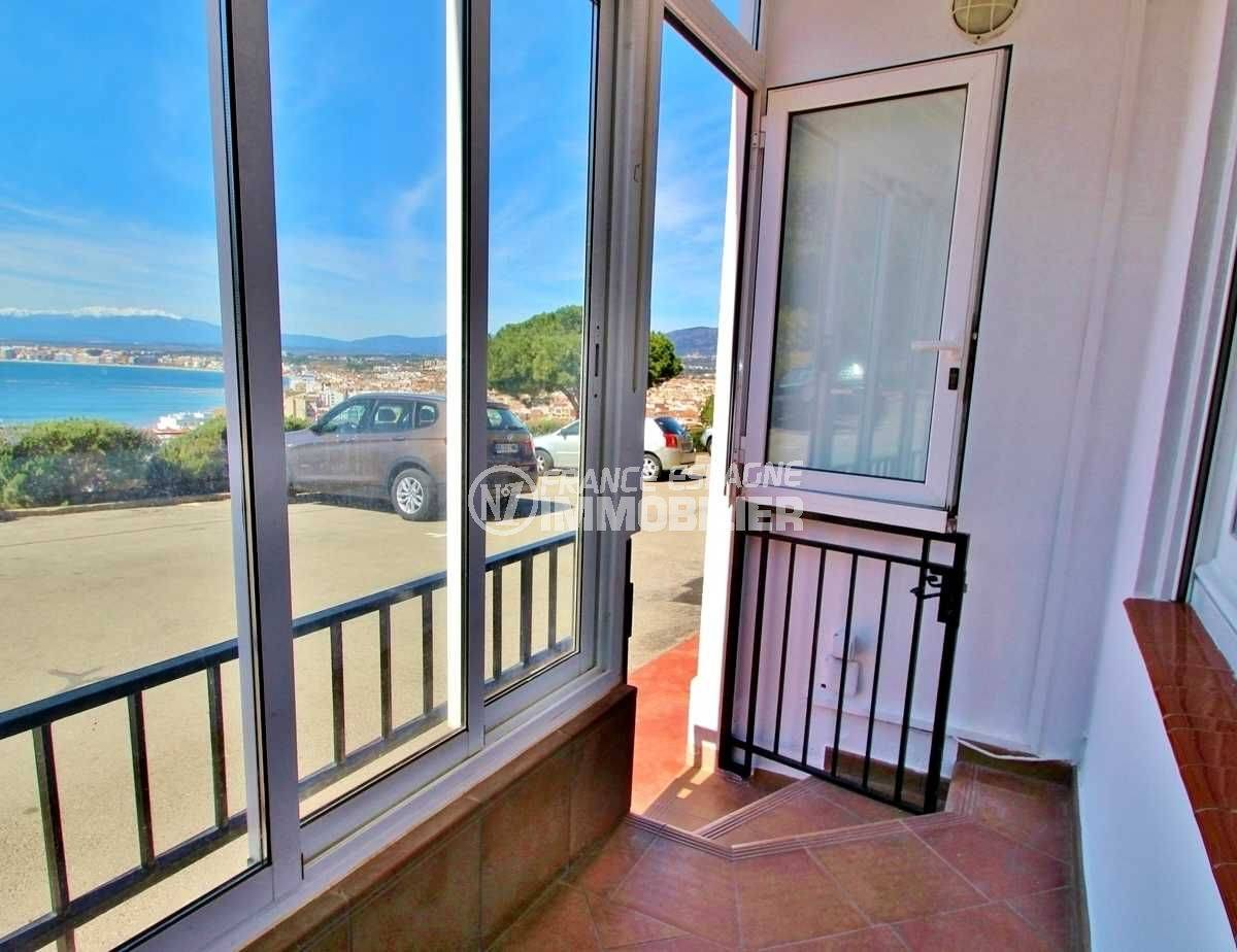 vente appartement espagne costa brava, Puig Rom, vue mer / montagne