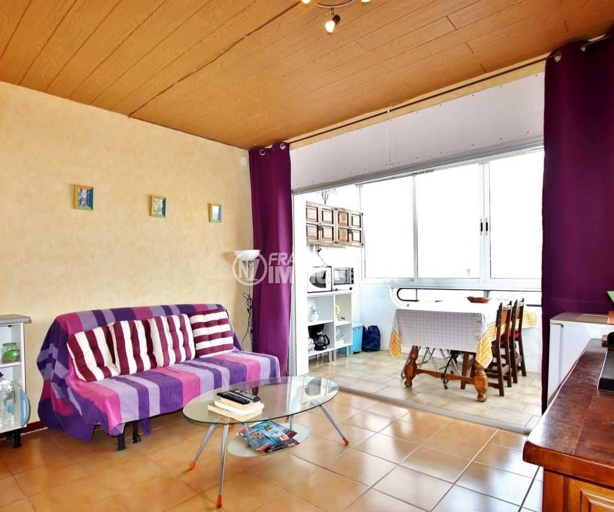 immobilier espagne pas cher : appartement Santa Margarita, Rosas, proche plage
