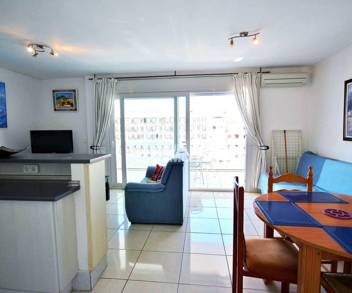 appartement a vendre empuriabrava, ref.3685, vue séjour
