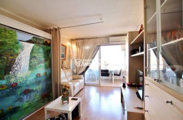 immo roses: studio 35 m², vendu meublé, résidence avec piscine & tennis, proche plage