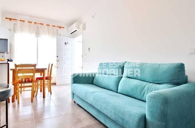 appartements a vendre a rosas: Puig Rom, 42 m², vue mer / montagne