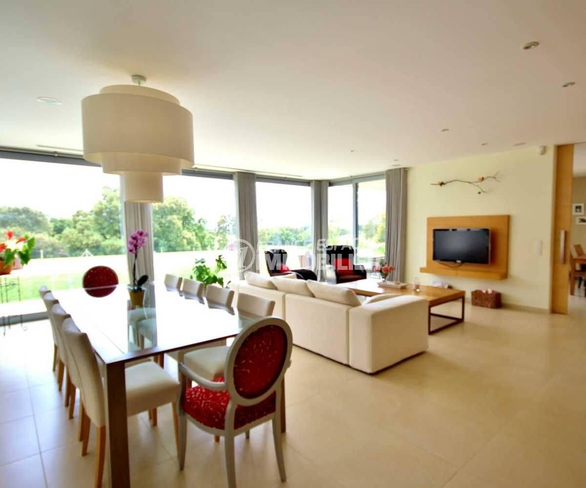 vente immobilier costa brava: ref.3682, salon / séjour avec baies vitrées vue jardin