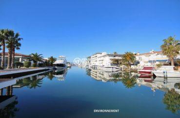 la costa brava: appartement ref.3671, vue sur le canal aux environs