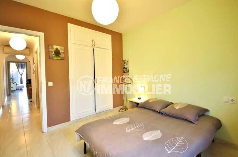 appartement à vendre rosas, proche plage, centre ville, 106 m², 3 chambres