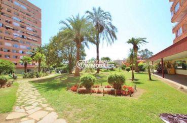 acheter appartement rosas, vendu meublé 35 m², jardin près de la piscine