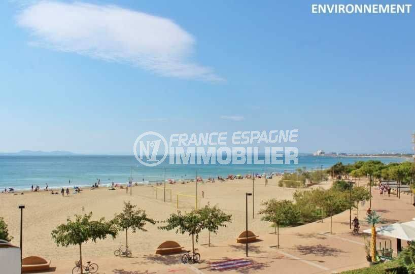 appartement roses, ref.3671, aperçu de la plage santa margarita à proximité