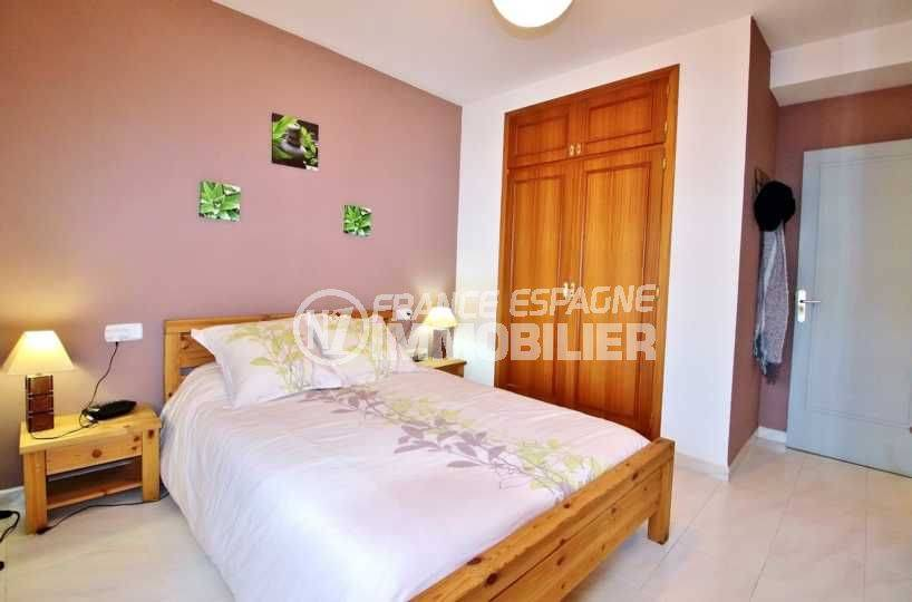 appartement a vendre rosas, proche plage, centre ville, 106 m², 3 chambres