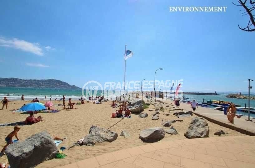 la costa brava: appartement ref.3667, aperçu de la jetée et de la promenade en bord de mer