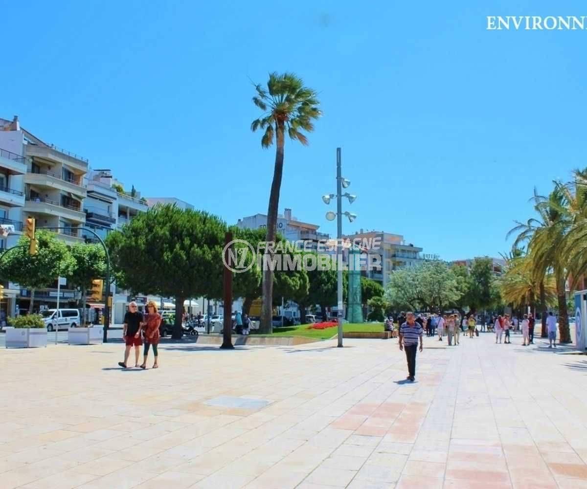 la costa brava: appartement ref.3664, plages et commerces aux alentours