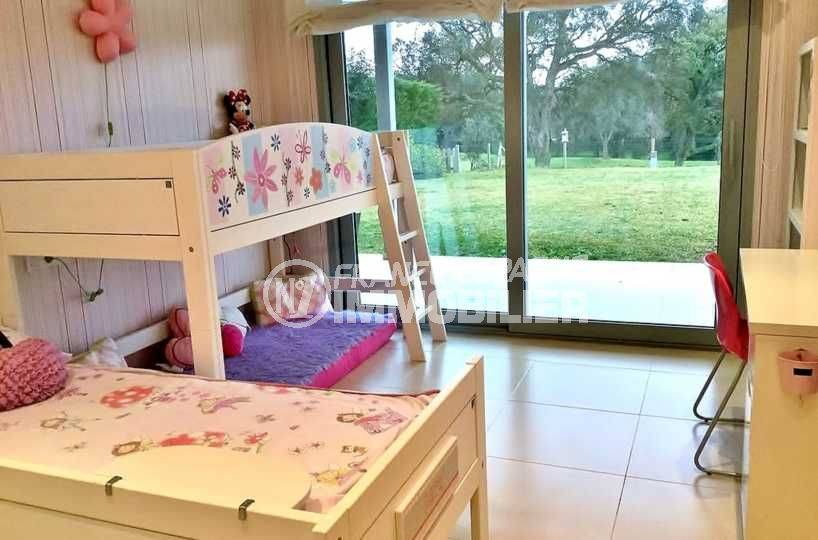 vente immobiliere espagne costa brava: ref.3682, chambre n°4: lits simples accès jardin