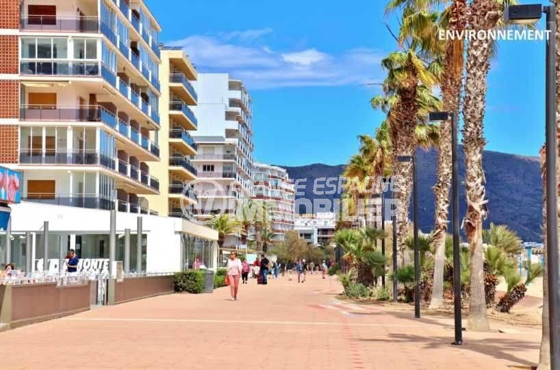 la costa brava: appartement ref.3665, promenade piétonne près de la plage et des commerces aux alentours