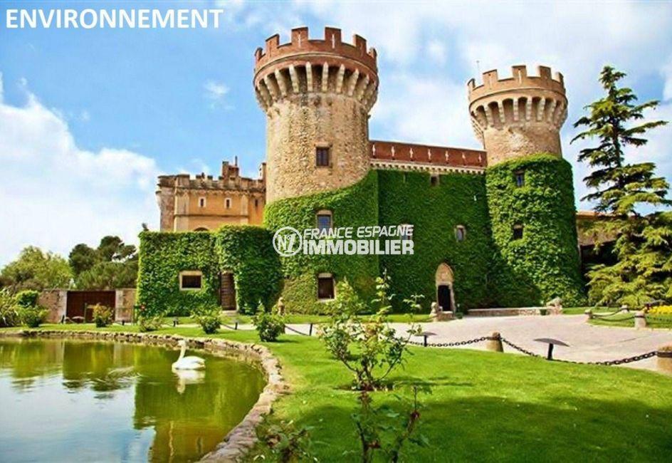maison à vendre en espagne costa brava, ref.3682, château de peralada à proximité