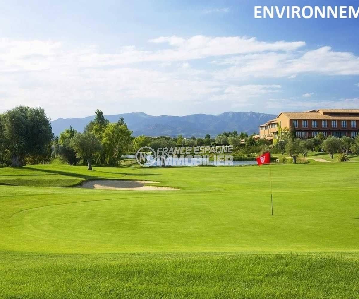 casas en venta en peralada: villa ref.3682, aperçu du golf aux alentours