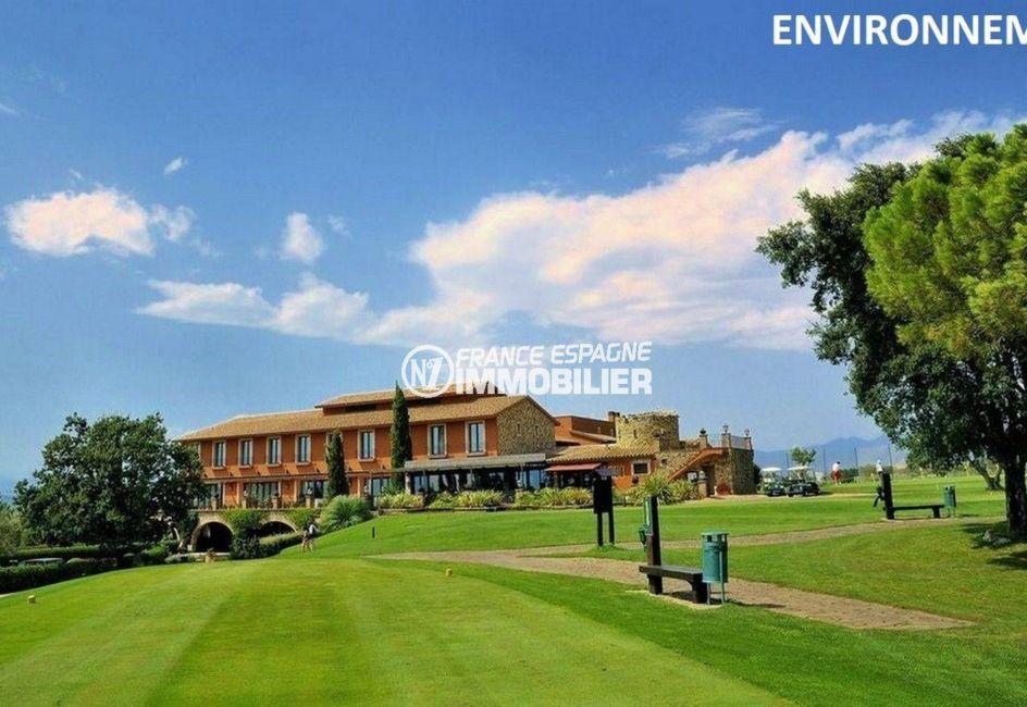 immobilier peralada: villa ref.3682, vue sur le club de golf aux environs