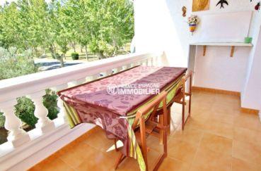 appartement empuriabrava - 53 m², terrasse vue dégagée