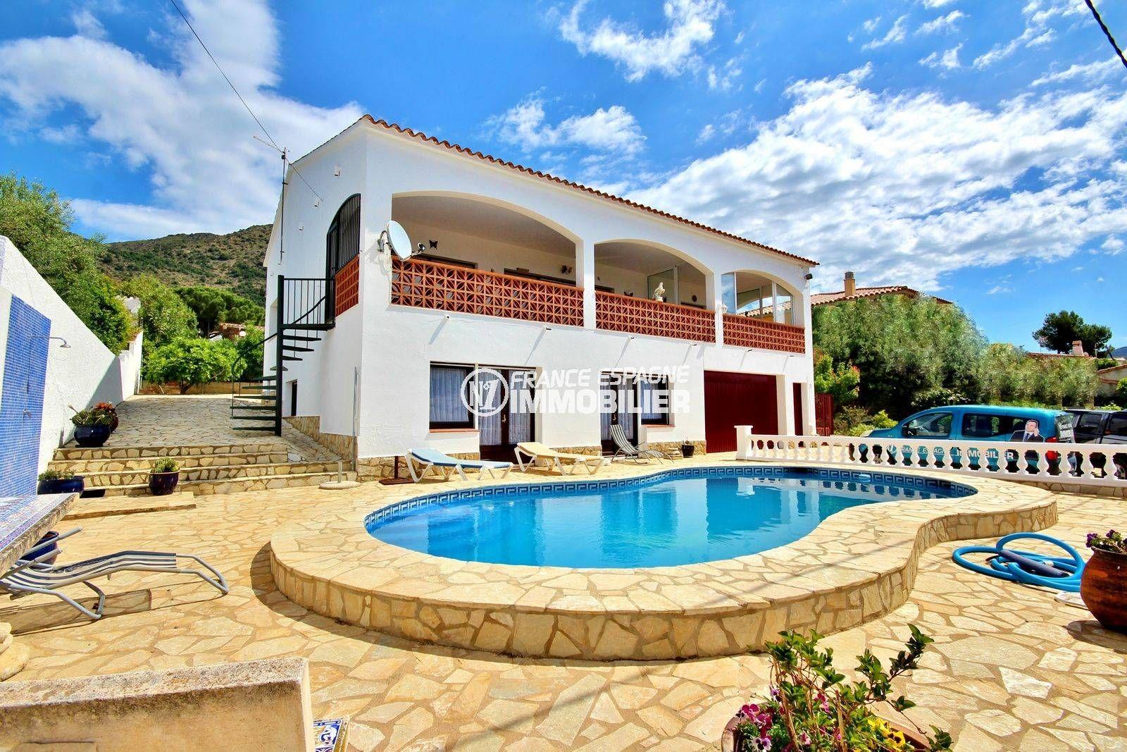 maison a vendre rosas, Mas fumats, , ref. 3702, piscine, vue mer