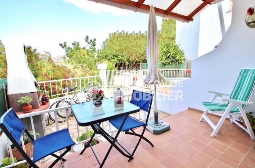 agence immobiliere rosas santa margarita, villa 63 m² - terrasse barbecue