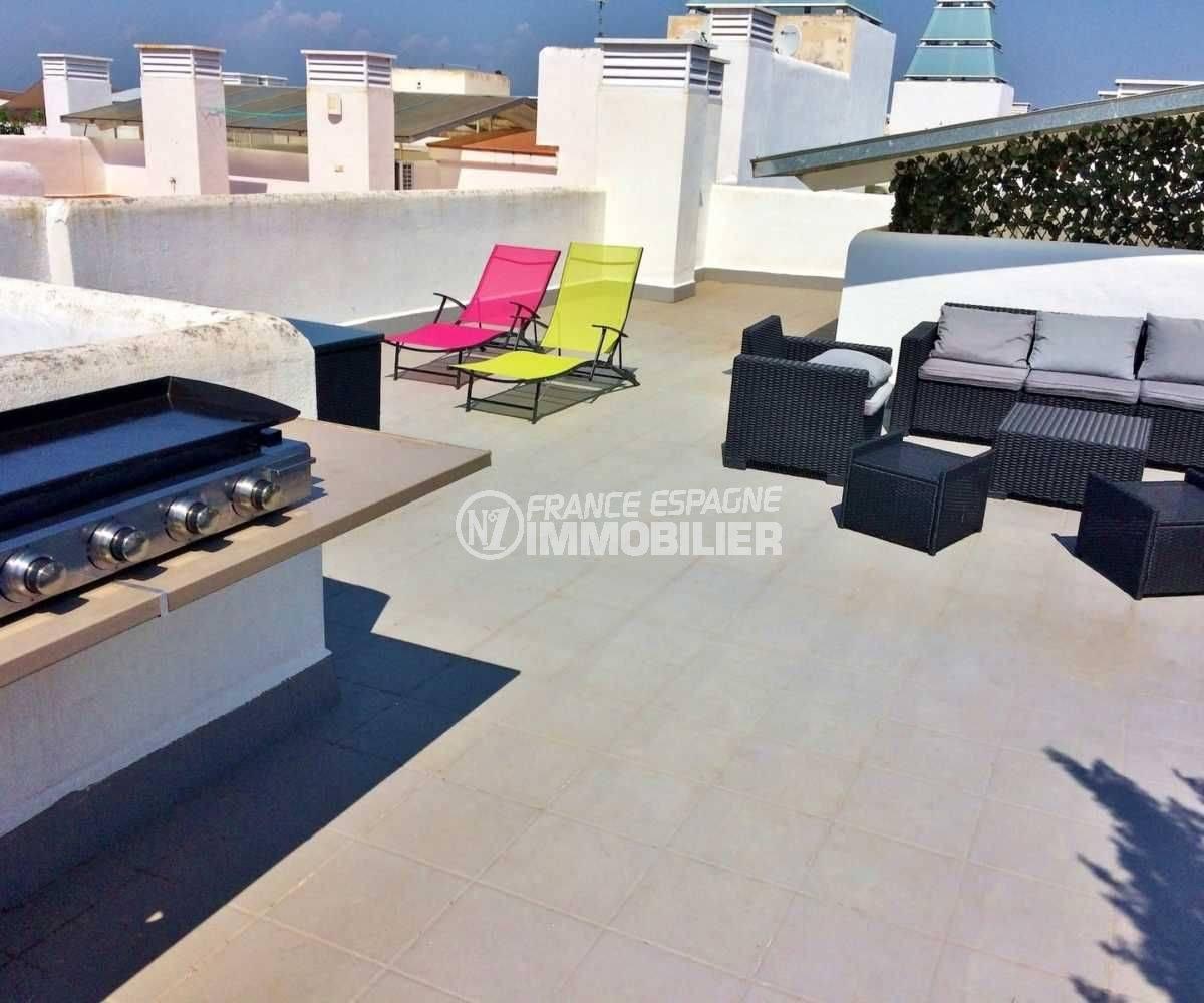 vente immobiliere espagne, appartement ref.3694, à Santa Margarida, terrasse solarium