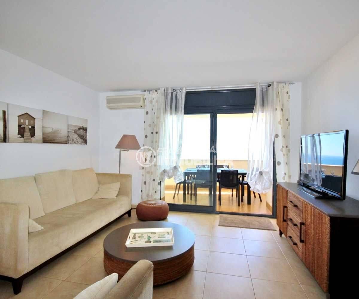 agence immobiliere empuriabrava: appartement 152 m², ref.3695,vue du séjour