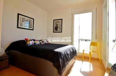 vente appartement costa brava, ref.3694, vue de la chambre 1