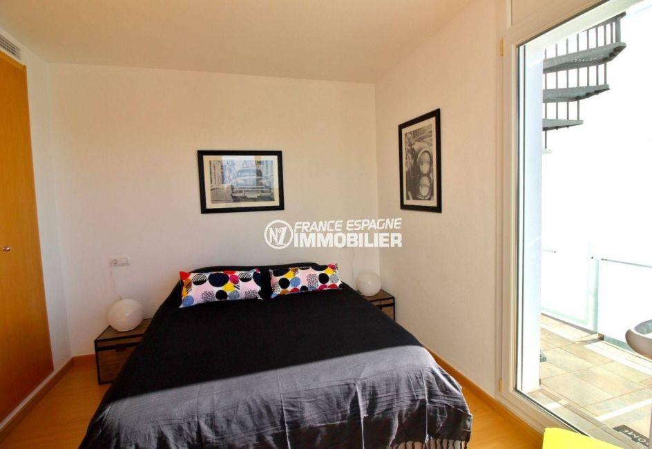 achat appartement rosas, ref.3694, chambre 1 vue de face