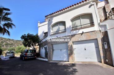 maison a vendre rosas, ref.3713, grande terrasse vue mer et garage exposition sud ouest