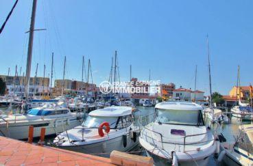 agence immobiliere costa brava: villa santa margarita, terrasse vue canal