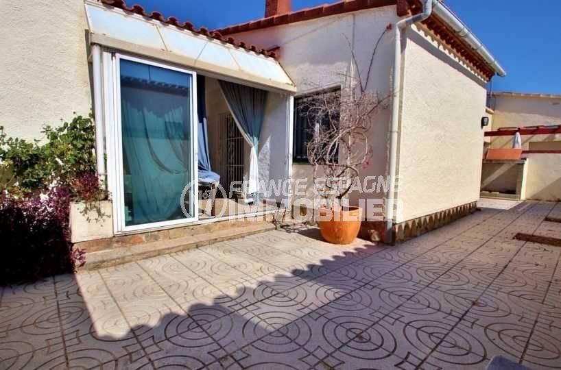 maison a vendre a rosas, ref.3731, vue sur la terrasse